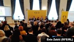 Okrugli sto o govoru mržnje u Hrvatskom novinarskom društvu u Zagrebu