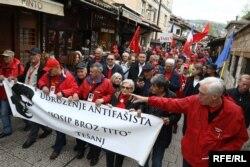 U Sarajevu je održan veliki Marš antifašista, svih generacija i iz brojnih gradova