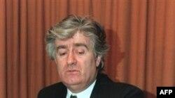 Radovan Karadžić pokazuje novinarima u etničku mapu BiH, Pale 16. januar 1993.