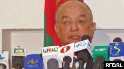 غلام محمد ییلاقی سرپرست وزارت تجارت و صنایع افغانستان