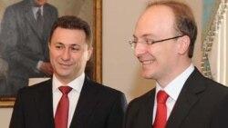 СДСМ: Антонио Милошоски и Никола Груевски(се вмешува и Сашо Мијалков) за името