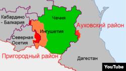 Ауховский район Дагестана