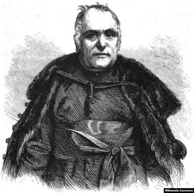 Олександр Духнович (1803–1865) – закарпатський греко-католицький священник, письменник, педагог, поет і культурний діяч