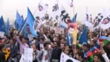 Azerbaijani Rally Demands Aliyev's Resignation