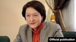 Нұржан Шайлдабекова, Қырғызстанның сайлау және референдум өткізу жөніндегі орталық комиссиясының төрайымы.