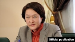 БШК төрайымы Нуржан Шайлдабекова.