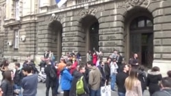 Protest studenata: 'Mislim, dakle, hapsi me'
