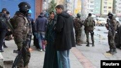 Түркия полициясы (Көрнекі сурет).