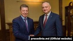 Întrevederea dintre Dmitri Kozak și Igor Dodon la Moscova din 29 ianuarie 2019