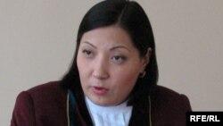 Медеу аудандық сотының судьясы Венера Тоқтарбаева. Алматы, 16 наурыз, 2009 жыл.