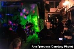 """""""Млади за Скопје"""" настан - Концерт на Алембик во Стара скопска чаршија на 22 ноември 2020 година"""