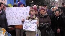 У Донецьку два євромайдани об'єдналися в один