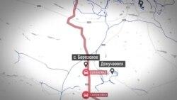 Главные пункты торговой блокады Донбасса – карта