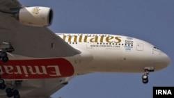 Avion Emiratesa