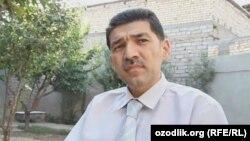 Блогер из Узбекистана Хаёт Хан Насреддинов.