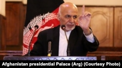 Afghan President Ashraf Ghani (file photo)