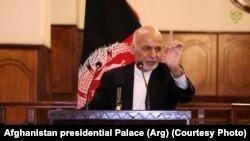 Owgan prezidenti Aşraf Gani
