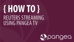 Reuters Streaming Using Pangea TV Tutorial