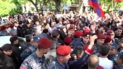 Armenia Antigovernment Protests Restart