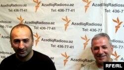 Ruslan Hüseynov və Tofiq Cabbarov
