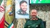 مجید موسوی، جانشین فرمانده نیروی هواقضای سپاه در مراسم رونمایی از دو کتاب درباره برنامه موشکی ایران در ۲۱ آبان ۹۹