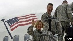 Американски војници го напуштаат Ирак.