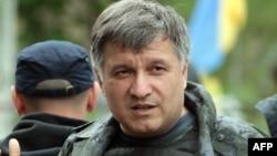 Міністр внутрішніх справ України Арсен Аваков у зоні АТО