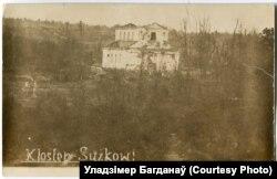 Пацярпелы ад абстрэлаў касьцёл у Наваспаску, 1916 год