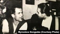 Георгій Гонгадзе (ліворуч) зник 16 вересня 2000 року
