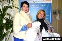 Җиңүчеләр Кәсирә Юмашева һәм Илза Гайнуллина
