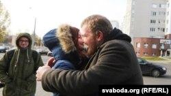 Сьвятлана Вінаградава і Павал Вінаградаў.