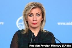 Мария Захаровао, фициальный представитель МИД России