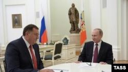 Milorad Dodik i Vladimir Putin, Moskva 22. septembar 2016.