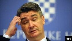 Zoran Milanović, predsjednik SDP Hrvatske
