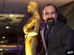 """""""Oscar"""" mükafatlı İran rejissoru Ashgar Farhadi, 24 fevral 2012"""
