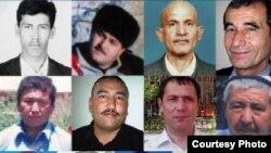Политзаключенные в Узбекистане. Данные HRW