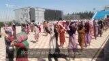"""Нақши чархаи Роғун дар Кӯлоб. 7 ҳазор нафар – ба """"маршировка"""""""