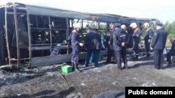 Թաթարստանում վթարված ավտոբուսը, 2-ը հուլիսի, 2017թ․
