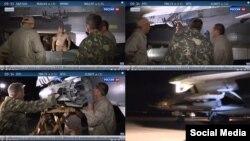 Скриншоты из репортажей, где видны бомбы, которые Россия применяет в Сирии для бомбардировок