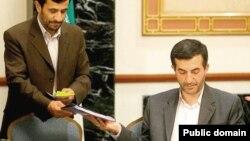 اسفندیار رحیممشایی و محمود احمدینژاد