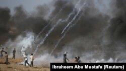 Акция протеста на границе сектора Газа и Израиля, 6 июля 2018 года