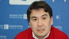 Нариман Ибрагимов, декан Казахстанско-Американского университета. Алматы, 31 октября 2013 года.
