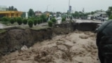 TAJIKISTAN -- Floods in Kulob city, 11MAY2021