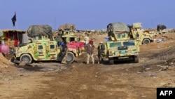 Проправительственные силы у иракского города Рамади. Иллюстративное фото.
