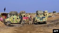 Иракские силы безопасности.