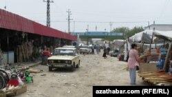 Türkmen bazary. Arhiw suraty