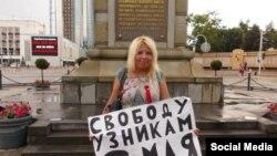 Дарья Полюдова, активист, выступивший за большую автономию Кубани.