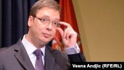 Kryeministri serb, Aleksandër Vuçiq.
