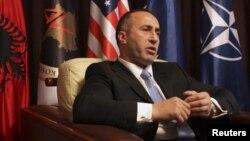 Kryetari i Aleancës për Ardhmërinë e Kosovës, Ramush Haradinaj.
