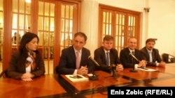 Predsjednici parlamentarnih odbora za vanjsku politiku u Zagrebu, 26. rujna 2014.